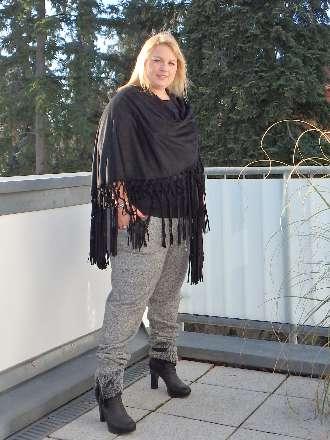 Schickes Outfit mit Jogginghose