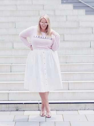 weiß und rosa