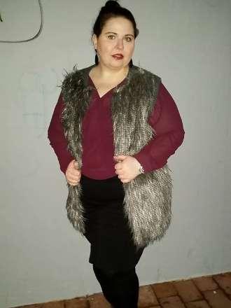 Kuschelweste meets Glamour