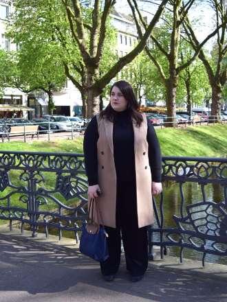 Marlene Hose und Camel Coat