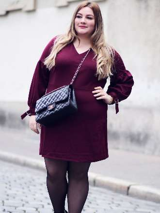 Red Wine Dress