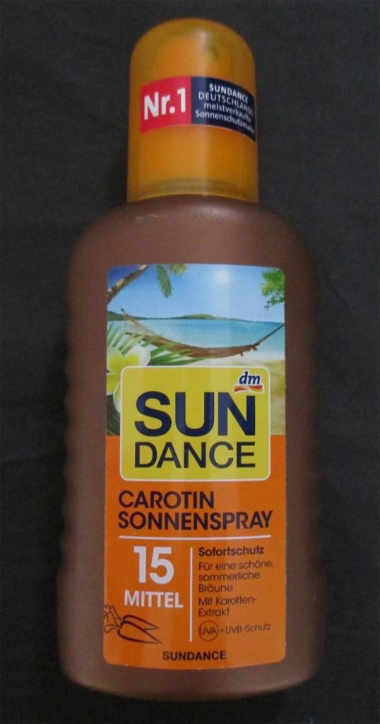 Sommer Beauty Tipp: carotin sonnenspray dm