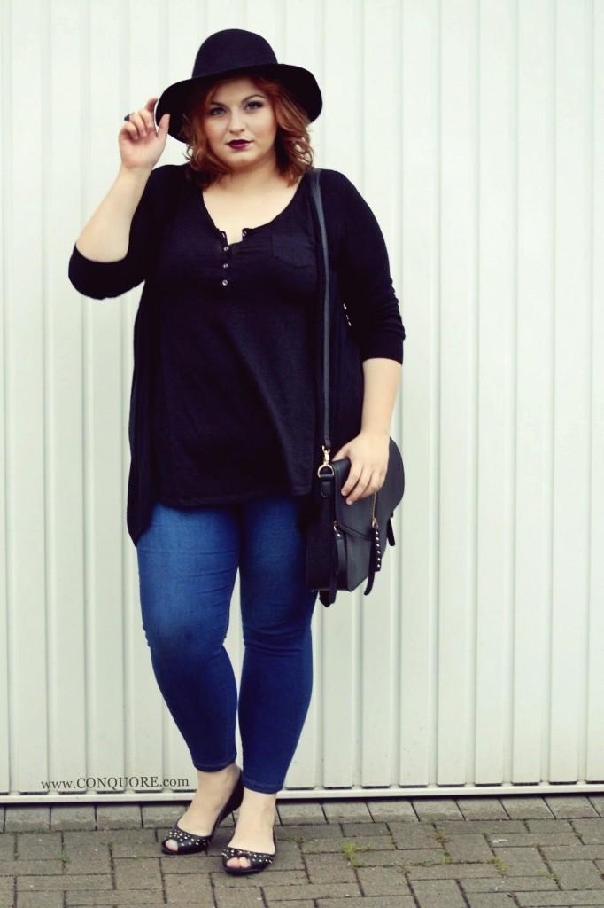 Plus Size Blog Cooles Freizeit-Outfit große Größen