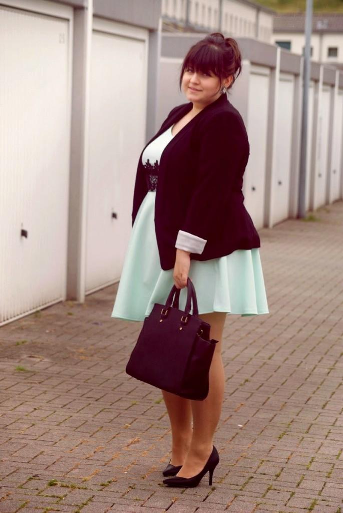 Plus Size Blog Cooles Büro-Outfit große Größen
