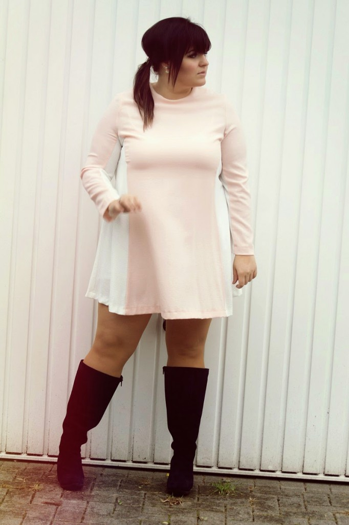 Plus Size Blog Kurzes Kleid große Größen