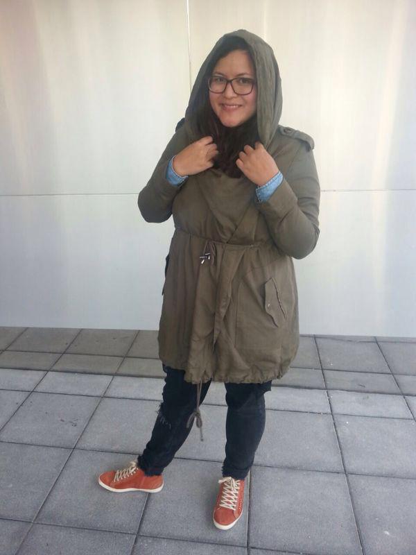 Urban Fashion Trends 2014 Modischer Damen-Parka:...
