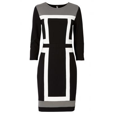 mode trend schwarz weiss kontraste incurvy plus size fashion blog