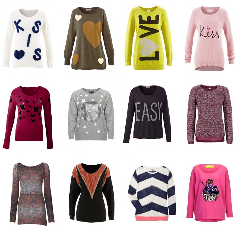 buy online fe01c aa18f Witzige und kuschelige Winterpullover in Oversize - jetzt ...