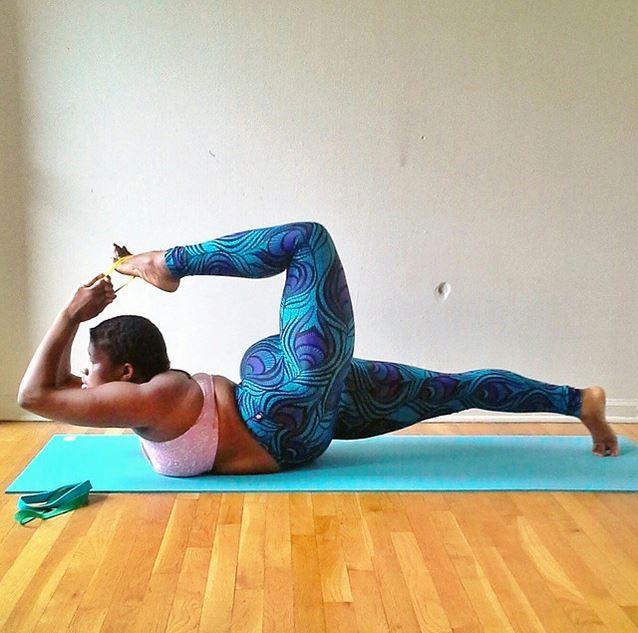 Curvy Yoga - der neue Fitness-Trend für Plus Size Frauen