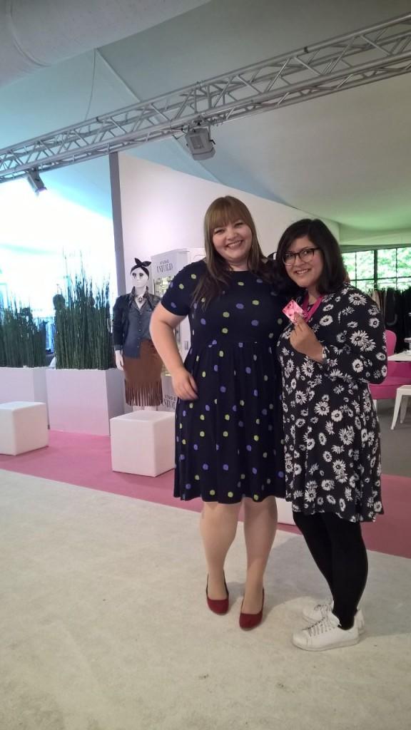 Auf der curvy Fashion Messe gibt es großartige Mode für große Größen!