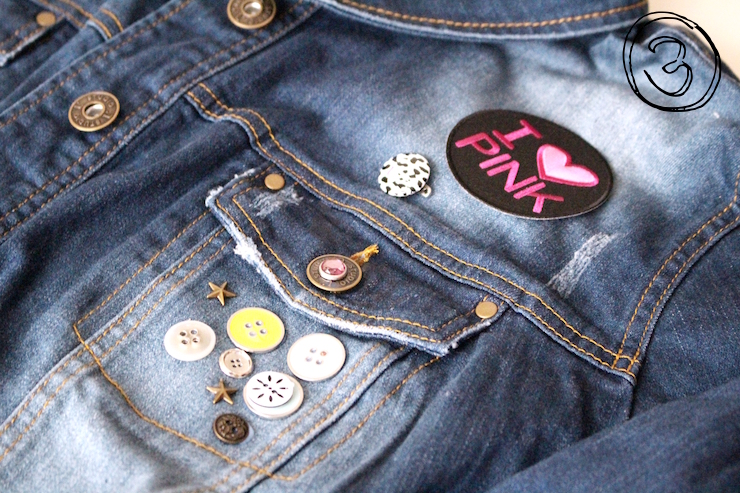 DIY: Alte Jeansjacke einfach aufpeppen - zu den Tipps!