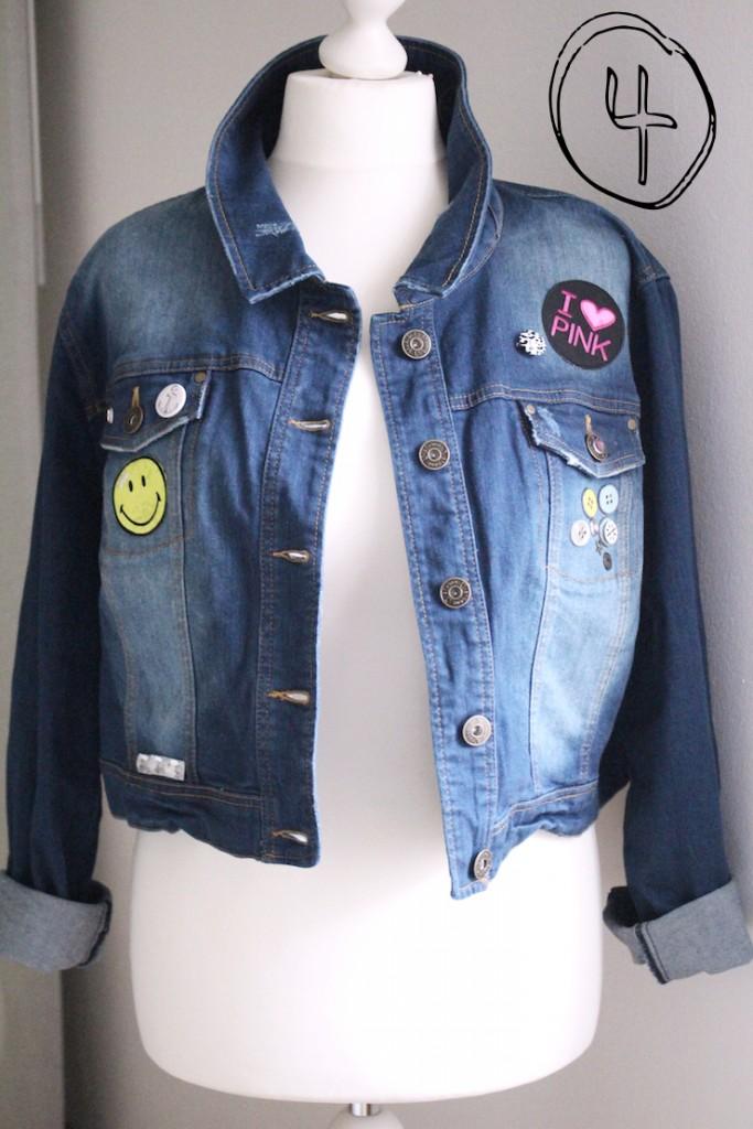 Tipps wie Du Deine Jeansjacke stylischer selbst gestaltest - zum DIY!