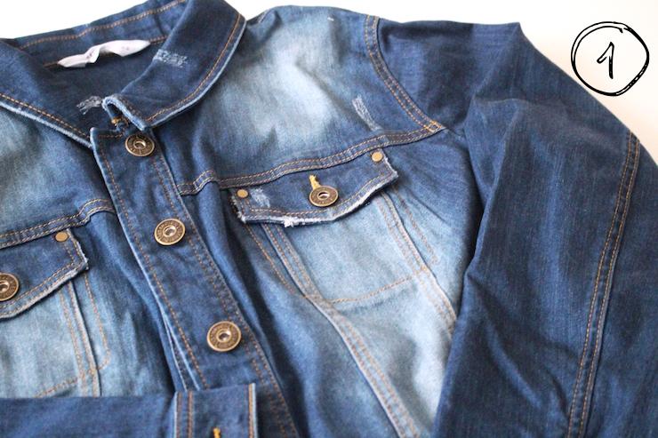 DIY: Alte Jeansjacke einfach neu und hipp gestalten - zu den Tipps!