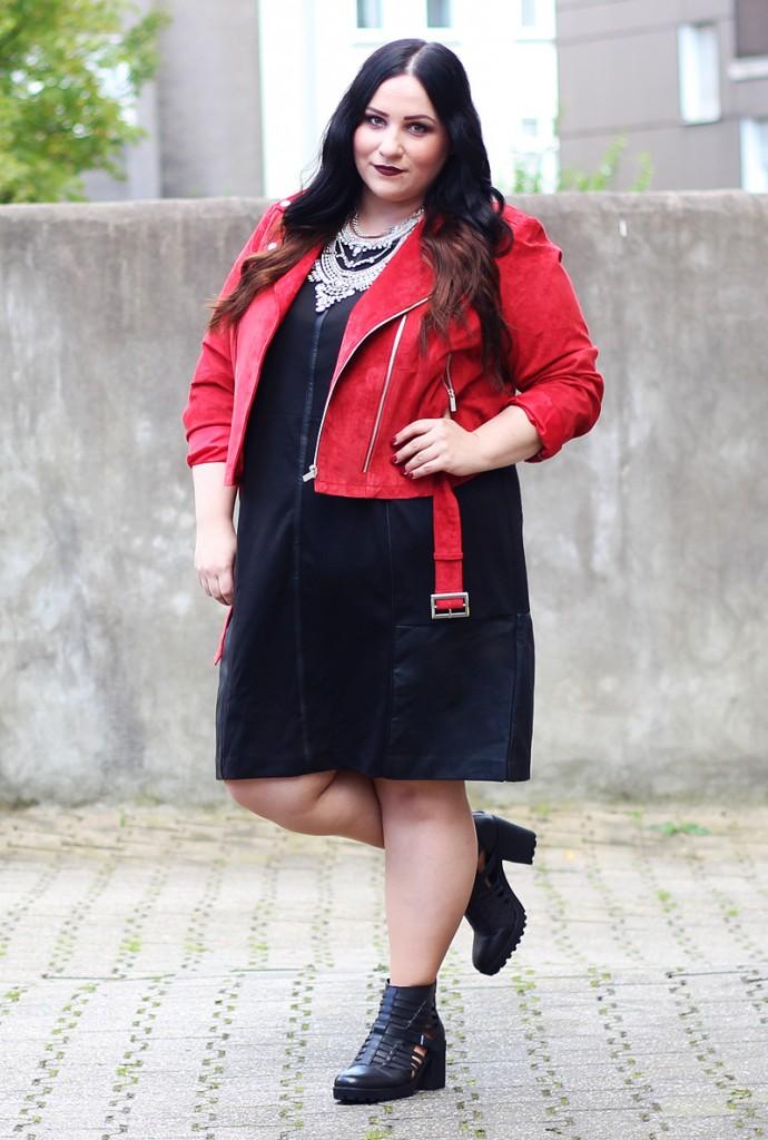 Lederjacke in großen Größen - für modebewusste Frauen!