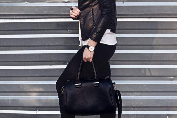 schwarze Stoffhose – 4 verschiedene Looks!