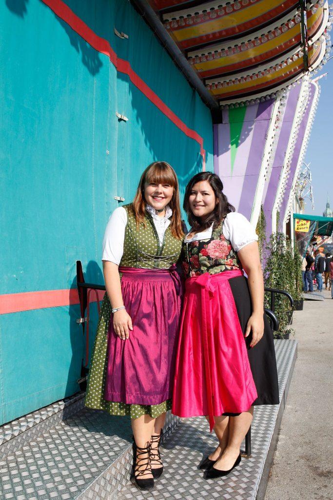 Auf dem Oktoberfest mit Plus Size Fashion Bloggerin!