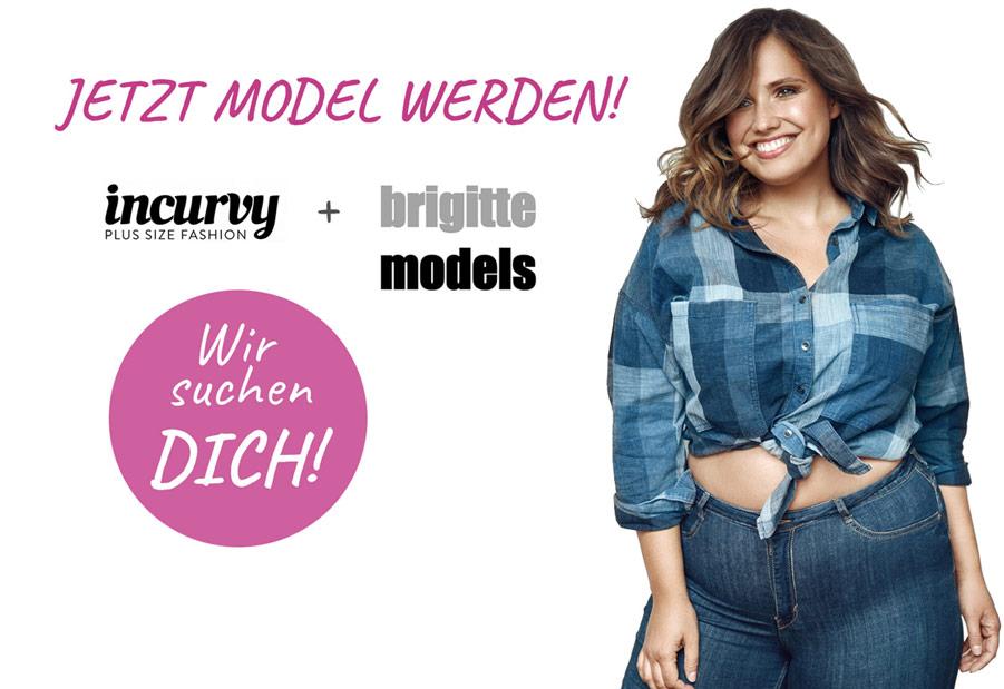 Jetzt curvy Model werden - gleich bewerben!