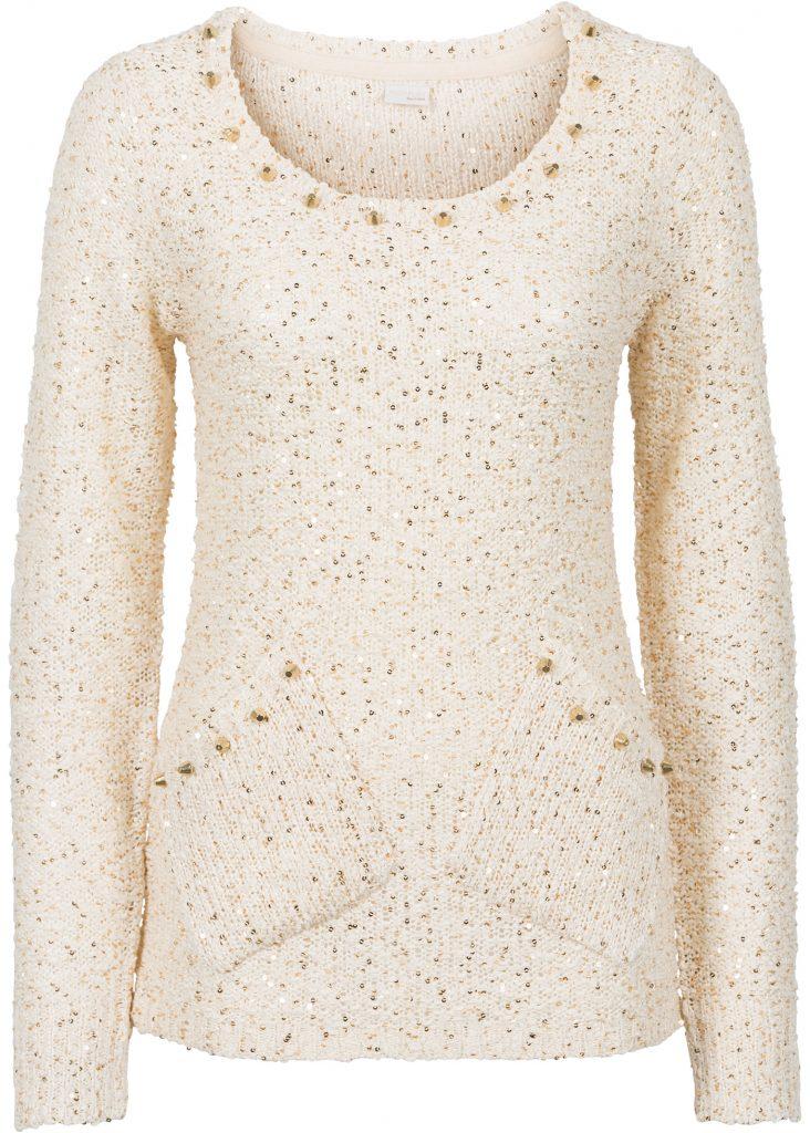 Glamouröser Pullover - als Outfit-Ideen für Weihnachten!