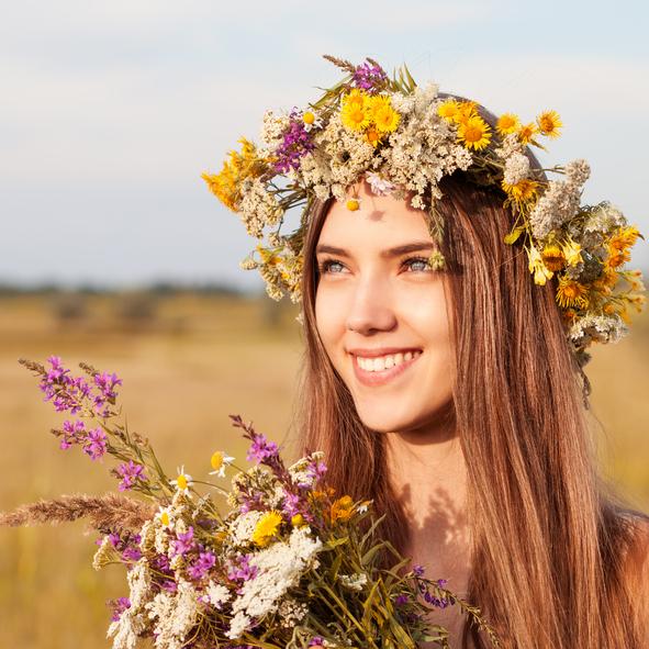 Blumen Styles für die Festivalsaison