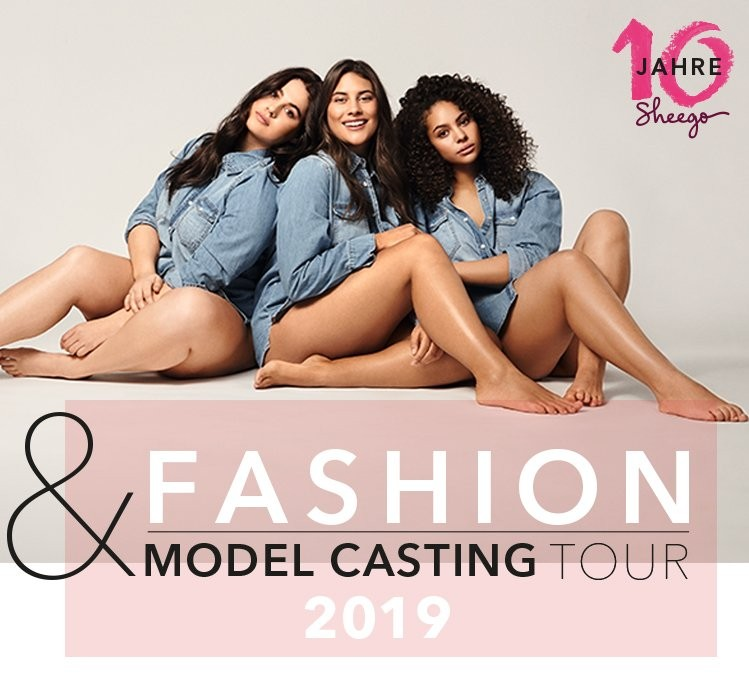 sheego Fashion-Model-Casting Tour