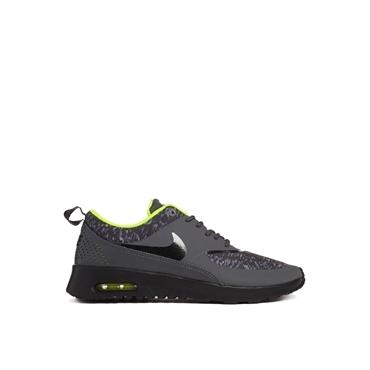 Nike - Air Max Thea - Bedruckte Turnschuhe in Schwarz - Schwarz