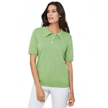 Basic Pullover grün Gr. 52 von Atelier Goldner Schnitt