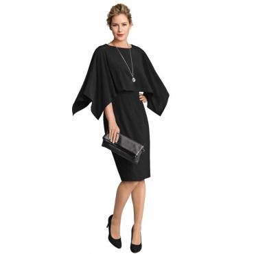 Kleid schwarz Gr. 54 von Atelier Goldner Schnitt