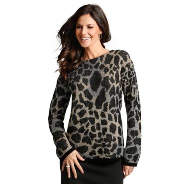 Oversize Pullover braun Gr. 50 von Atelier Goldner Schnitt