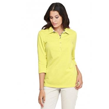 Poloshirt gelb Gr. 54 von Atelier Goldner Schnitt