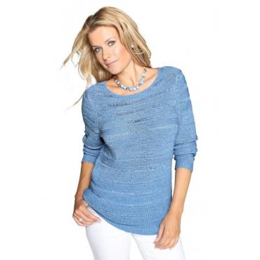 Pullover blau Gr. 54 von Atelier Goldner Schnitt