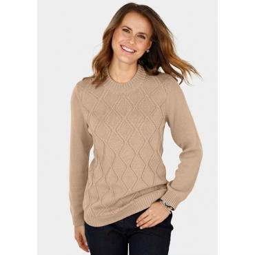 Pullover braun Gr. 52 von Atelier Goldner Schnitt