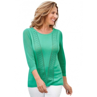 Pullover grün Gr. 54 von Atelier Goldner Schnitt