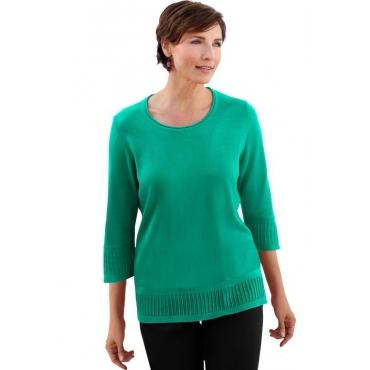 Pullover grün Gr. 50 von Atelier Goldner Schnitt