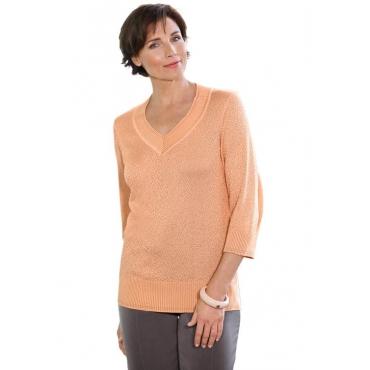 Pullover orange Gr. 54 von Atelier Goldner Schnitt