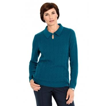 Schöner Pullover grün Gr. 46 von Atelier Goldner Schnitt