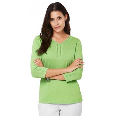 Schöner Pullover grün Gr. 54 von Atelier Goldner Schnitt
