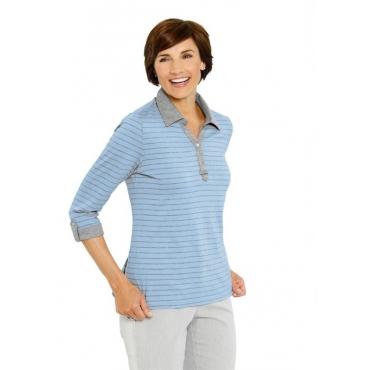 Shirt blau Gr. 54 von Atelier Goldner Schnitt
