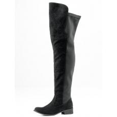 Andrea Conti Overknee-Stiefel schwarz 35,37,39,41,43