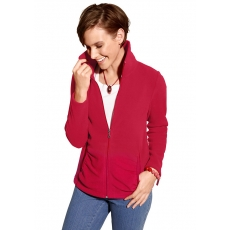 CLASSIC BASICS Classic Basics Fleece-Jacke mit hochwertiger Antipilling-Ausrüstung rot 48,50,52,54