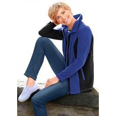 Classic Basics Fleece-Jacke mit Umlegekragen CLASSIC BASICS blau 48,50,52,54,56