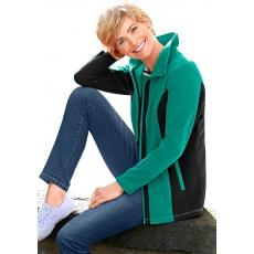 Classic Basics Fleece-Jacke mit Umlegekragen CLASSIC BASICS grün 48,50,52,54