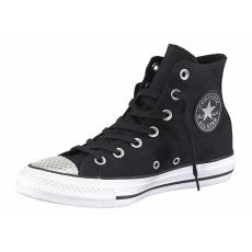 Converse Sneaker Chuck Taylor All Star Metallic Toecap Hi schwarz 37,39,41,42
