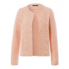 Damen BRAX Bette - Damenwirkjacke Stilsichere Etui-Jacke mit ansprechendem Muster BRAX rot 46