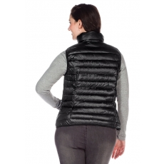 Damen Casual Steppweste SHEEGO CASUAL schwarz 48,50,52,54,56