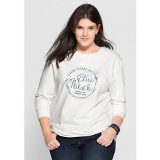Damen Casual Sweatshirt SHEEGO CASUAL weiß 48,52,56