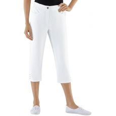 Damen Classic Basics Capri-Jeans mit Rundum-Dehnbund CLASSIC BASICS weiß 48,50,52,54