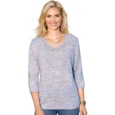 Damen Classic Basics Pullover mit V-Ausschnitt CLASSIC BASICS bunt 48,50,52,54,56
