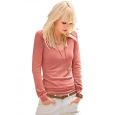 Damen Classic Inspirationen Pullover in weichem und wunderbar geschmeidigem Feinstrick CLASSIC INSPIRATIONEN orange 48,50,52,54