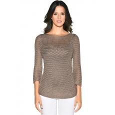 Damen Classic Inspirationen Pullover mit luftigen Strukturmuster CLASSIC INSPIRATIONEN braun 48,50,52,54