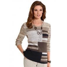 Damen Classic Pullover CLASSIC natur 48,50,52,54